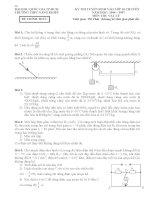Tuyển tập đề thi tuyển sinh lớp 10 chuyên Lý ĐHQG TPHCM