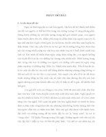 yếu tố kì ảo trong tiểu thuyết việt nam đương đại (khảo sát qua ba tiểu thuyết)
