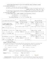 GIẢI bài tập lý 12 BẰNG máy TÍNH