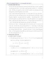 Đề tài áp dụng hệ thức vi – et trong giải toán lớp 9