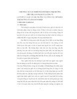 LUẬN VĂN PHƯƠNG HƯỚNG VÀ MỘT SỐ GIẢI PHÁP MỞ RỘNG THỊ TRƯỜNG TIÊU THỤ SẢN PHẨM CỦA CÔNG TY CHẾ TẠO ĐIỆN CƠ HÀ NỘI