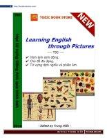 Học từ vựng tiếng Anh qua hình ảnh có phiên âm và dịch nghĩa