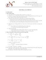 lý thuyết và bài tập điện ly Hóa 11