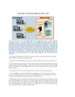 Giới thiệu về hệ thống điều hòa VRV