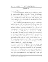 Giọng điệu trong tiểu thuyết Tạ Duy Anh khóa luận tốt nghiệp