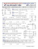 Đáp án đề thi cuối kỳ môn kỹ thuật điện tử