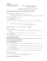 Tuyển tập 25 đề thi thử đại học môn toán ( có đáp án chi tiết kèm theo)