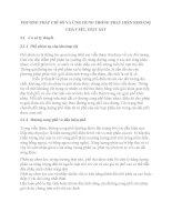 PHƯƠNG PHÁP CHỈ số và ỨNG DỤNG TRONG PHÁT HIỆN KHOÁNG CHẤT sét, OXIT sắt