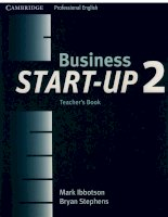 business start-up 2 teacher book