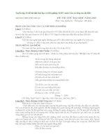 Tuyển tập 15 đề thi thử đại học và tốt nghiệp THPT môn văn (có đáp án chi tiết)