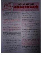 Các bài toán khảo sát hàm số liên quan đến tìm diện tích hình phẳng