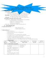 Giáo án bàn tay nặn bột (môn sinh học lớp 6)