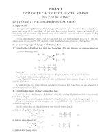 7 Chuyên Đề Giải Nhanh Các Bài Tập Hóa Học