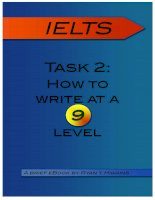 task 2   how to write at a 9 level