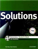 IELTS  Solutions elementary sb