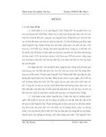 Tư duy tự sự lịch sử trong truyện ngắn của Nguyễn Huy Thiệp khóa luận tốt nghiệp