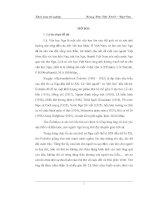 Hình tượng người phụ nữ trong thơ của X.A. Êxênhin khóa luận tốt nghiệp