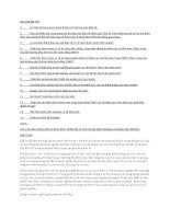 Câu hỏi ôn tập Thương mại điện tử PTITHCM