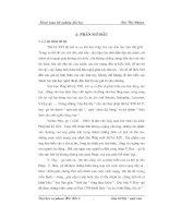 Thiên nhiên Pari trong tiểu thuyết Những người khốn khổ của V. Huygô