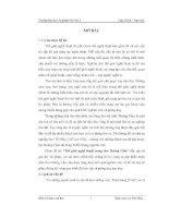 Thế giới nghệ thuật thơ Hoàng Cầm khóa luận tốt nghiệp