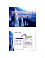 Bài giảng Quyền lực và Uỷ Quyền trong quản trị