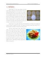 Công nghệ sản xuất bánh tráng rế