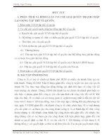 PHÂN TÍCH VÀ BÌNH LUẬN CƠ CHẾ GIẢI QUYẾT TRANH CHẤP LAO ĐỘNG TẬP THỂ VỀ QUYỀN