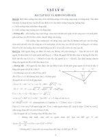 bài tập vật lí 10 hay và khó - lời giải chi tiết