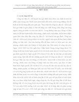 """ĐỀ TÀI: Công tác xã hội với việc thực hiện dân số  kế hoạch hoá gia đình của xã Lương Ninh, huyện Quảng Ninh, tỉnh Quảng Bình"""""""