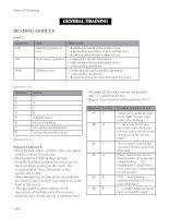 Keys for general training