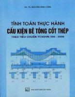 Tính toán thực hành cấu kiện bê tông cốt thép theo tiêu chuẩn TCXDVN 356 2005