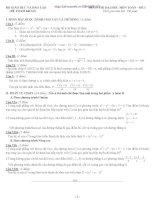 Tuyển tập đề thi thử môn toán có đáp án