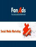 Marketing facebook, truyền thông mạng xã hội hiệu quả