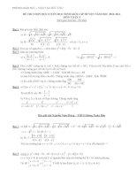 Tuyển tập các Đề thi học sinh giỏi toán 9 năm 2013 - 2014 có kèm đáp án