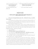 Bài tiểu luận cuối khóa và các bài kiểm tra giữa kì môn Kỹ năng tạo lâp văn bản