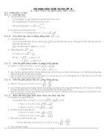 Bài tập toán lớp 9 thi vào cấp 3 2016-2017