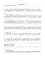 nghiên cứu sử dụng hợp lý tài nguyên, bảo vệ môi trường lưu vực sông gâm (phần lãnh thổ việt nam) bản tóm tắt tiếng anh