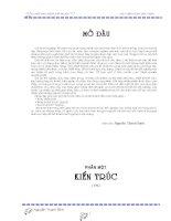 ĐỒ ÁN TỐT NGHIỆP KỸ SƯ XÂY DỰNG ĐẠI HỌC XÂY DỰNG THIẾT KẾ TỔ HỢP NHÀ Ở TIÊU CHUẨN CAO