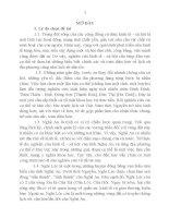 nội dung tóm tắt luận án kinh tế - xã hội huyện nghi lộc, tỉnh nghệ an thời nguyễn (1802 - 1884)