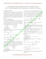 giải nhanh các dạng bài tập hóa học vô cơ luyện th đại học