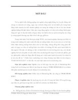 Chiến lược marketing mix tại công ty Minh Khai