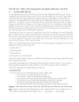 Đề tài Một số kỹ năng giải toán phần nhiệt học vật lý 8