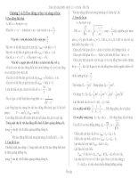 Tổng hợp công thức Vật lý lớp 12