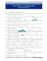 110 câu hỏi cấu tạo nguyên tử, bảng tuần hoàn và liên kết hóa học