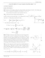 Chuyển động của hạt trong trường điện từ