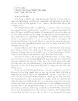 skkn các dạng bài tập luyện từ và câu lớp 3