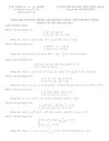 Tổng hợp phương trình hệ phương trình bất phương trình trong các đề thi 2014
