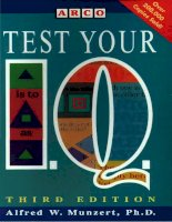 Test your iq 3rd edition slicer