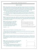 Tài liệu bồi dưỡng học sinh giỏi và thi vào khối chuyên môn vật lý 9
