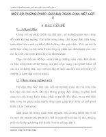 SKKN một số phương pháp giải bài toán chia hết lớp 6